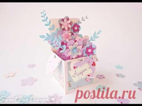 Tutorial: Pop-up card 3d flowers