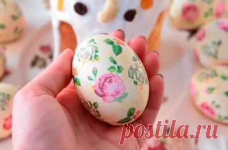 Необычный способ украсить яйца к Светлой Пасхе: пошаговое руководство | Кулинарные рецепты – yommy.pw | Яндекс Дзен