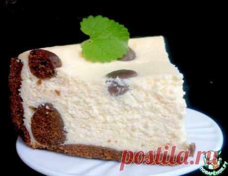 """El pastel de requesón """"В горошек"""""""