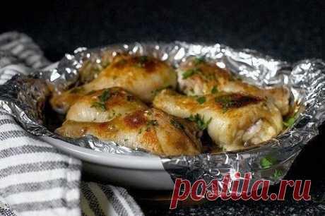 Как приготовить куриные ножки, запеченные со сливками. - рецепт, ингредиенты и фотографии
