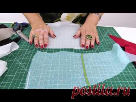 #вязание #моделирование #выкройки #вышивка #шитье Работа с клеевыми материалами