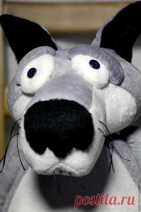 Шьем волка по мотивам мультфильма «Жил был пёс» -