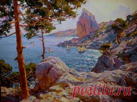 El pintor Sergey Sviridov|Kartiny