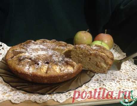 """Яблочный пирог """"Прованс"""" – кулинарный рецепт"""