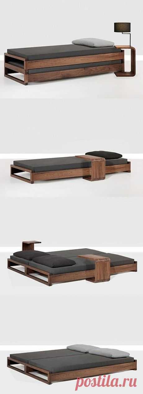 Кровать - трансформер (с тумбами) / Мебель / Модный сайт о стильной переделке одежды и интерьера