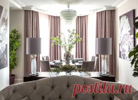 Магнолии в цвету: интерьер квартиры в Царицыно от Тины Гуревич