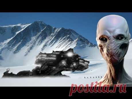 В Антарктиде найден инопланетный корабль с живыми пришельцами на борту в состоянии криогенного сна