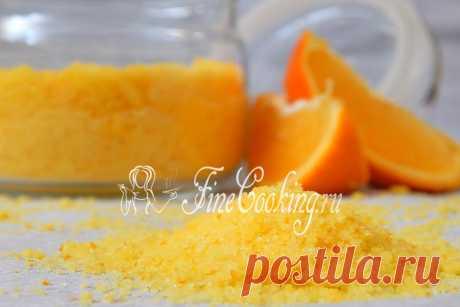 El azúcar de naranja