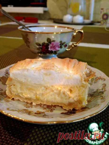 Lemon meringue pie - the culinary recipe