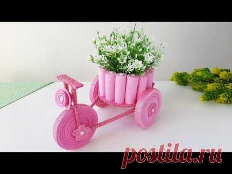 Велосипед декоративный. Подарок своими руками.
