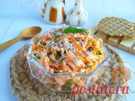Салат из моркови и творога - идеальное сочетание для усвоения витаминов и кальция