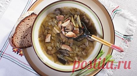 Постный суп-калья
