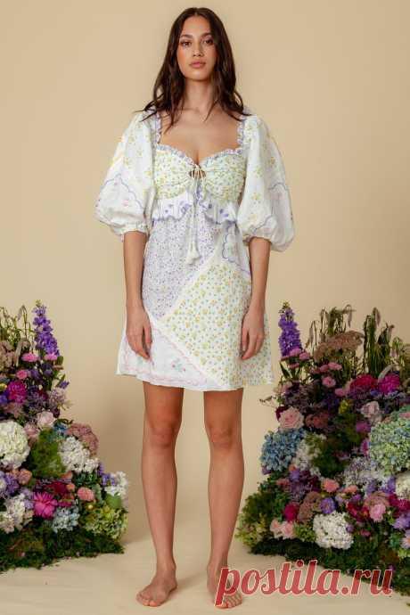 Aileen Ditsy 'Hanky' - Mini Dress – fillyboo