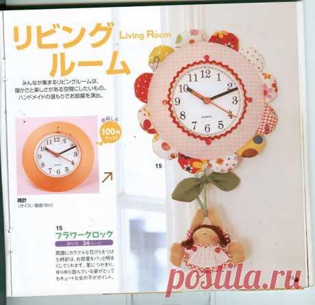 Часы идеи декора