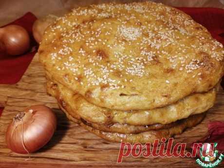 Лепешки с луком и тыквой Кулинарный рецепт