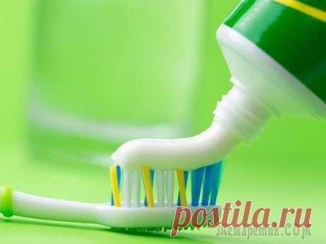 17 необычных способов применения зубной пасты
