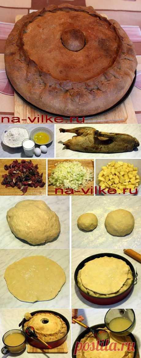 Зур-бэлиш - мясной пирог с бульоном