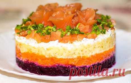 Сёмга на шубе - пошаговые рецепты с фото на povarenok.by