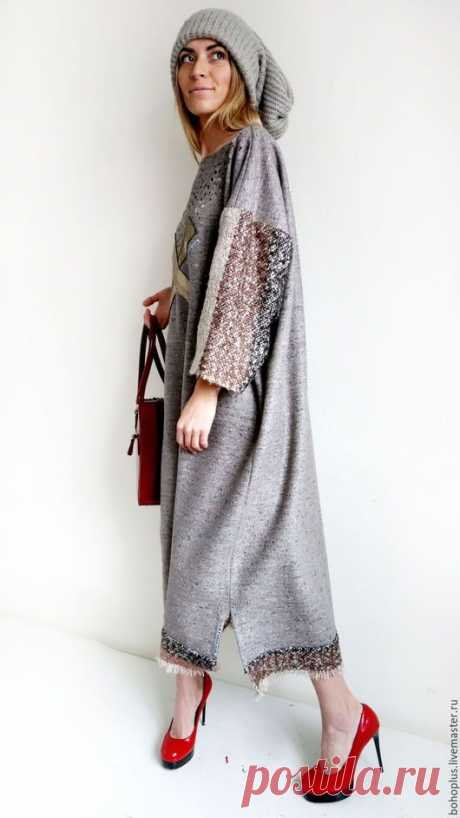 Платья ручной работы. Платье в стиле бохо шик