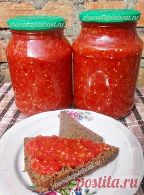 The recipe of adjika from Jamie Oliver