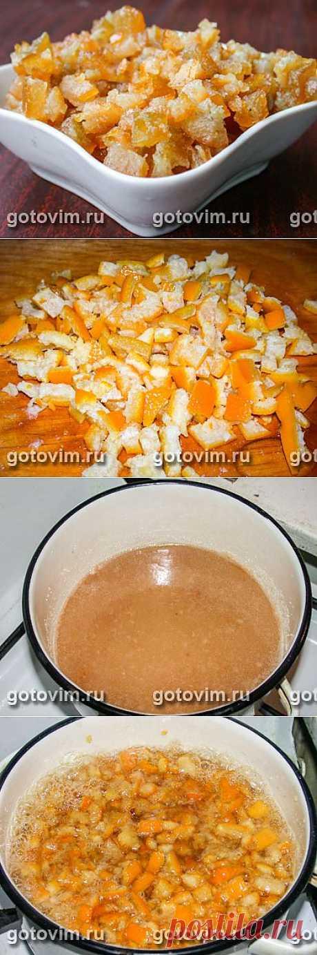 Цукаты из апельсинов. Фото-рецепт / Готовим.РУ