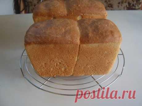 Белый хлеб на картофельных дрожжах. Маринкины творинки