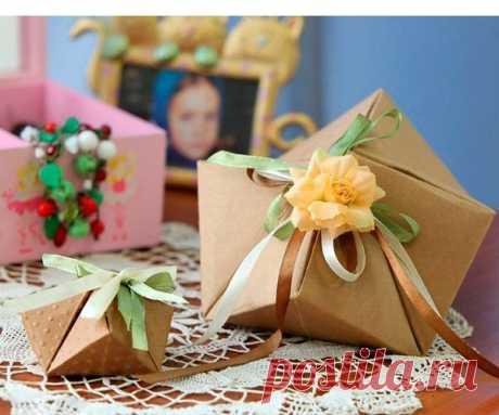 👌 Подарочные коробки из бумаги - 5 мастер-классов, увлечения и хобби Я долго думала, что же подарить любимой мамочке на 8 Марта. Мне хотелось, чтобы подарок непременно был приятным: для души, для красоты. Ни о каких полезных вещах типа утюга или пос...