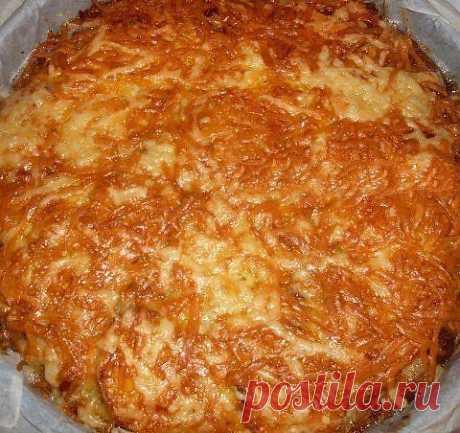 шеф-повар Одноклассники: Кабачковый пирог - запеканка
