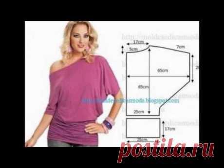 Сшить простую блузку своими руками