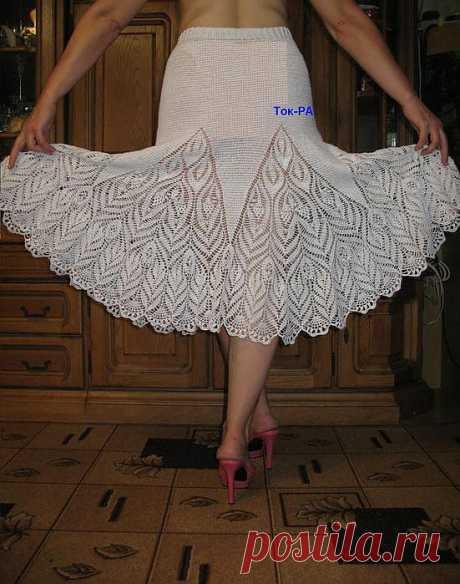 Красивая юбка (годе с кружевом) | Сами с усами