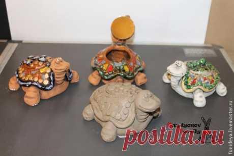 Мастер-Класс к 8 Марта: Черепаха-шкатулка