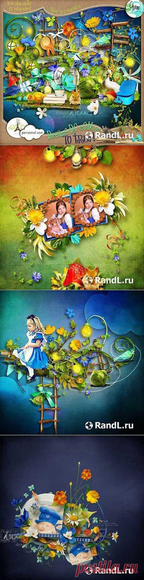 Детский скрап-комплект - Мечты действительно исполняются » RandL.ru - Все о графике, photoshop и дизайне. Скачать бесплатно photoshop, фото, картинки, обои, рисунки, иконки, клипарты, шаблоны.