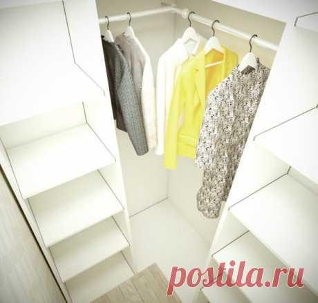 Гардеробная в обычной квартире | flqu.ru - квартирный вопрос. Блог о дизайне, ремонте
