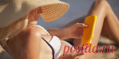 12 ошибок при использовании солнцезащитных средств