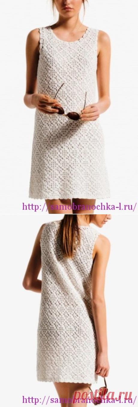 Коллекция летних платьев крючком - САМОБРАНОЧКА рукодельницам, мастерицам