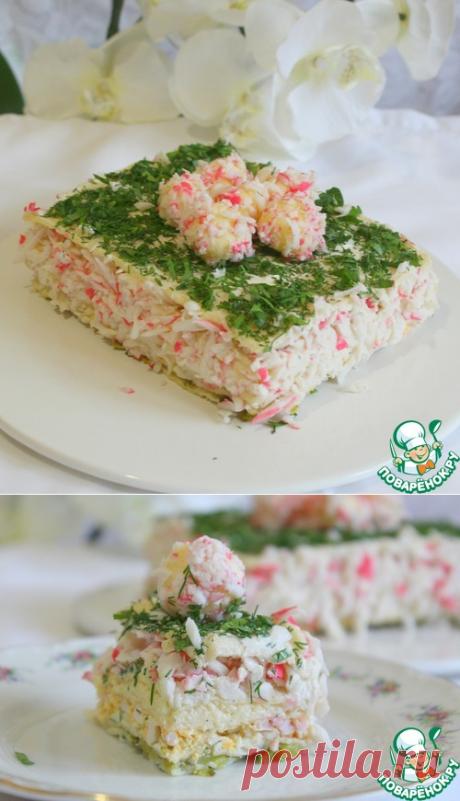 """Торт закусочный """"Крабовый рай"""""""