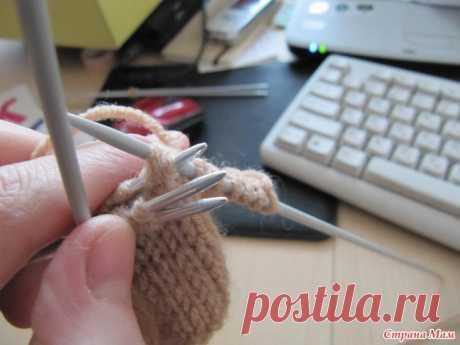 МК вязания складок спицами (Уроки и МК по ВЯЗАНИЮ) | Журнал Вдохновение Рукодельницы