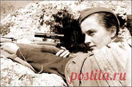 Загадка снайпера Людмилы Павличенко