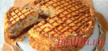 Домашний торт «Витязь», вкусный и простой в приготовлении .