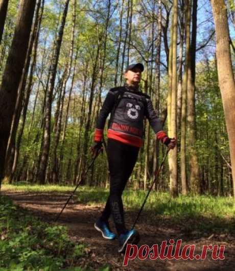 Польза и техника скандинавской ходьбы. Как правильно подобрать палки   Полезные советы