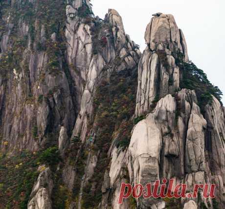 Вычурные пейзажи Жёлтой горы. Часть 2. - Nota Bene