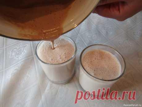 Шоколадно-кофейный десерт на агаре Рецепт необычного, легкого шоколадно-кофейного десерта на агаре подойдет как на завтрак, так и для полезного перекуса. Получается легким, нежным и воздушным.Ингредиенты:сливки 10% — 350 мл.;агар-агар – 1 ч.л.;сахар – 6 ч.л.;какао-порошок – 1 ч.л.;кофе растворимый – ¼ ч.л.;ванильный...