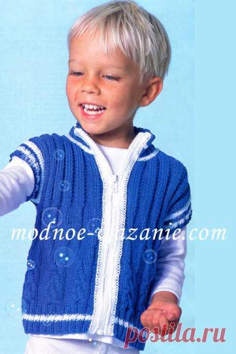 Выкройка безрукавки для мальчика 3 год из фото 607