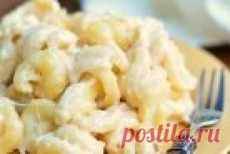 Макароны с сыром - рецепт с фото на Повар.ру
