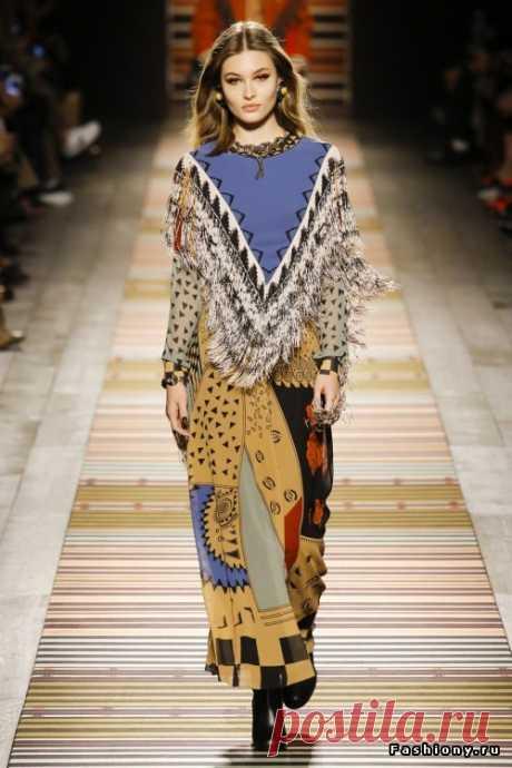 Etro Осень-Зима 2018-2019  Я снова в большом восторге от новой коллекции итальянского модного дома Etro. Вероника Этро продолжает удивлять шикарными образами, тканями и принтами. Традиционные принты от Etro всегда вдохновляют,…