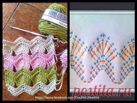 (6) Вязание крючком