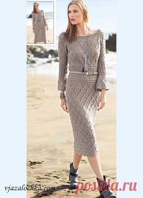 El vestido en el estilo boho.\u000d\u000a\u000d\u000aLa descripción: http:\/\/vjazalochka.com\/vjazanie-dlja-zhenwin\/vjazanie.