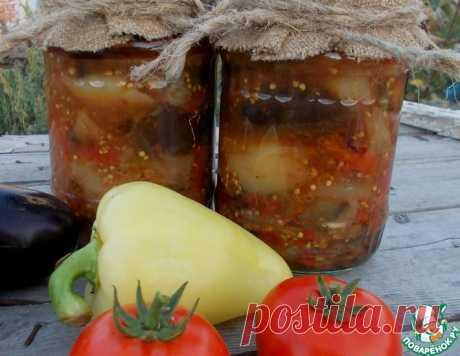 Баклажаны с перцем и помидорами – кулинарный рецепт