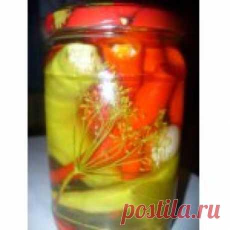 Перец чили (острый, горький) консервированный Кулинарный рецепт