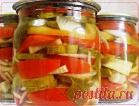 Овощное ассорти на зиму | Рецепты вкусно